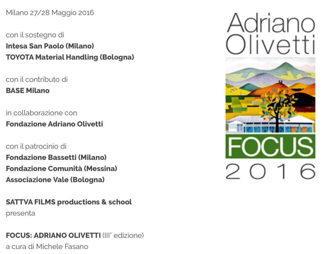 focus olivetti
